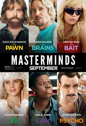 Masterminds showtimes and tickets