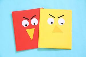 Get Organized with DIY Folders Inspired by 'Birds'