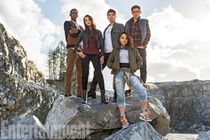 Here's Your First Look at the New 'Power Rangers'