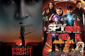 You Rate the New Releases: 'Conan the Barbarian', 'Fright Night' and 'Spy Kids 4: All the Time in the World'