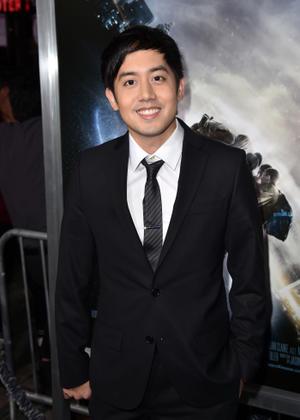 "Allen Evangelista at the California premiere of ""Project Almanac."""