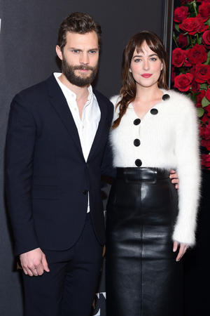 See all the 'Fifty Shades of Grey' premiere images