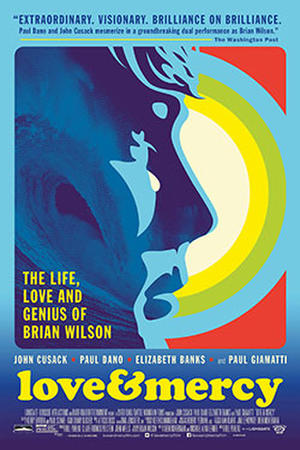 """Poster for """"Love & Mercy."""""""