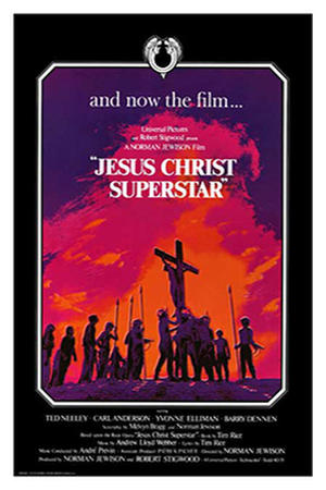 "Poster art for ""Jesus Christ Superstar."""
