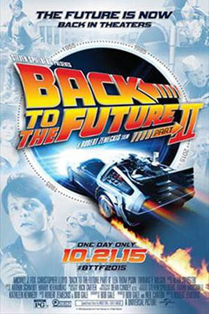 """Poster art for """"Back To The Future Part II."""""""