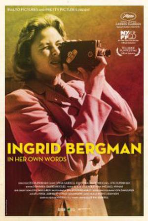 "Poster art for ""Ingrid Bergman in Her Own Words."""