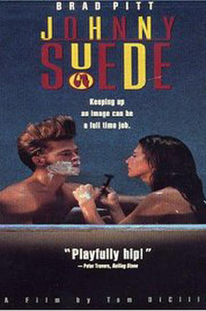 """Poster art for """"Johnny Suede."""""""