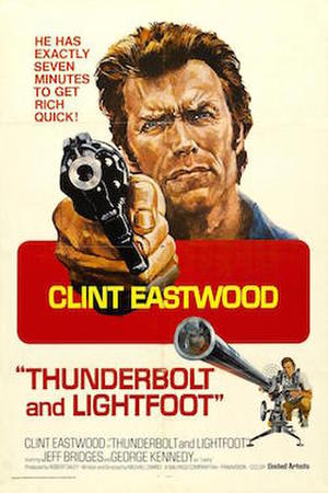 """Poster art for """"Thunderbolt and Lightfoot."""""""