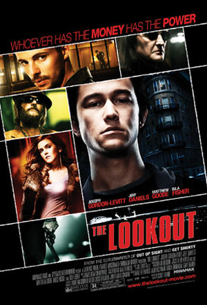 "Poster art for ""The Lookout."""