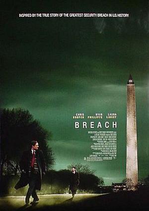 """Poster art for """"Breach."""""""
