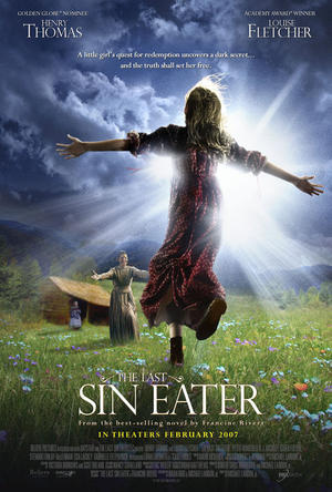 "Poster art for ""The Last Sin Eater."""
