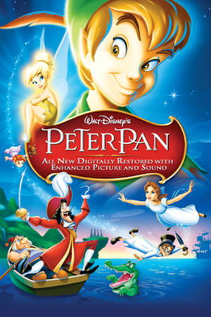 "Poster art for ""Peter Pan."""