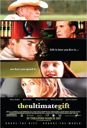 "Poster art for ""The Ultimate Gift."""