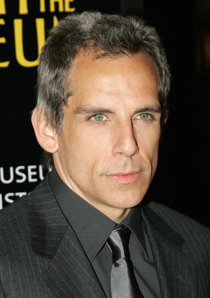 "Star Ben Stiller at the N.Y. premiere of ""Night at the Museum."""