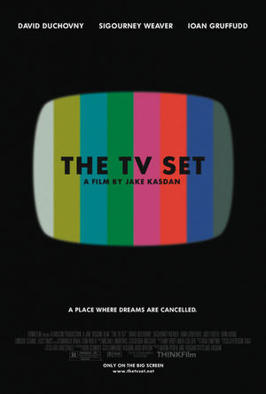 "Poster art for ""The TV Set."""