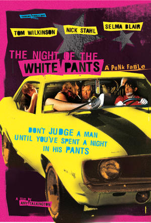 """Poster art for """"The Night of the White Pants."""""""