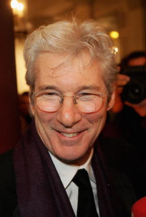 """""""The Flock"""" star Richard Gere at the Cinema for Peace Charity gala in Berlin."""