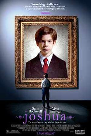 """Poster art for """"Joshua."""""""