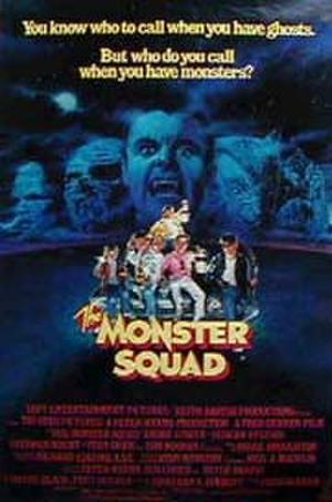"Poster art for ""The Monster Squad."""