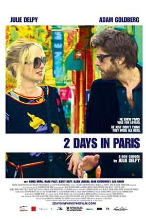 """Poster art for """"2 Days in Paris."""""""