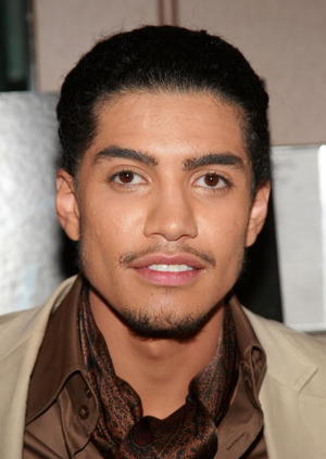 """Illegal Tender"" star Rick Gonzalez at the N.Y. premiere."