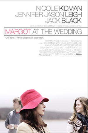 "Poster art for ""Margot at the Wedding."""