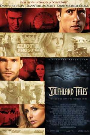 "Poster art for ""Southland Tales."""