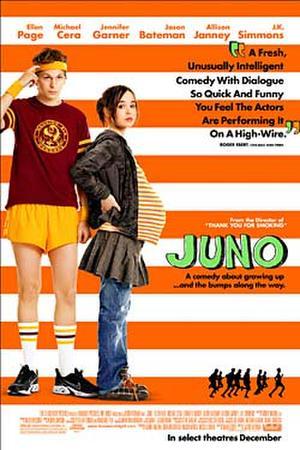"""Poster art for """"Juno."""""""