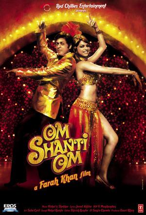 """Poster art for """"Om Shanti Om."""""""