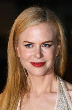 "Actress Nicole Kidman at the London premiere of ""The Golden Compass."""