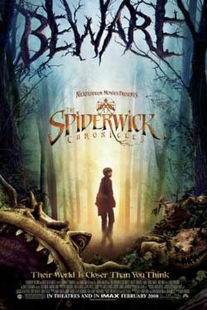 "Poster art for ""The Spiderwick Chronicles."""