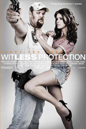 "Poster art for ""Witless Protection."""