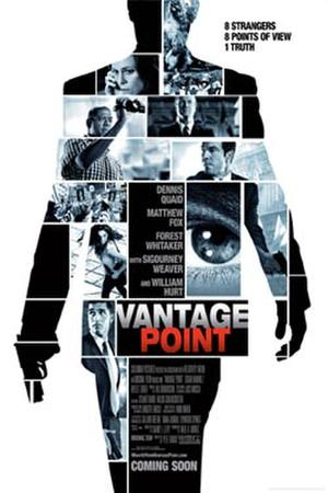 "Poster art for ""Vantage Point."""