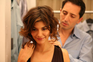 "Audrey Tautou and Gad Elmaleh in ""Priceless."""