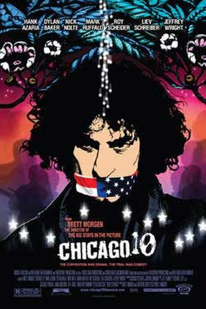 "Poster art for ""Chicago 10."""