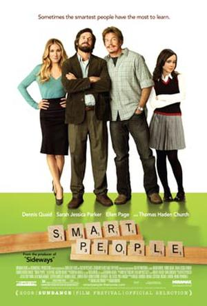 """Poster art for """"Smart People."""""""