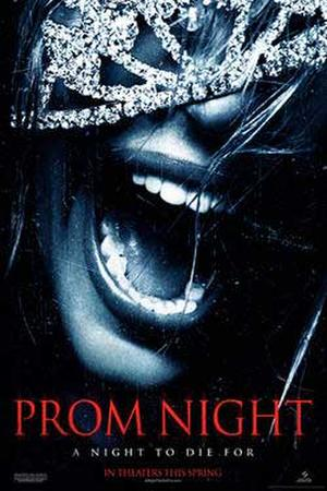 "Poster art for ""Prom Night."""