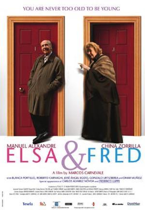 """Poster art for """"Elsa & Fred."""""""