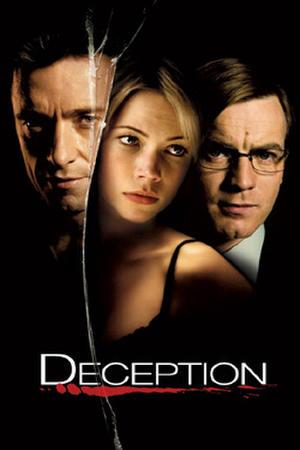 "Poster art for ""Deception."""