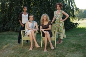 "Jada Pinkett Smith, Annette Bening, Meg Ryan and Debra Messing in ""The Women."""