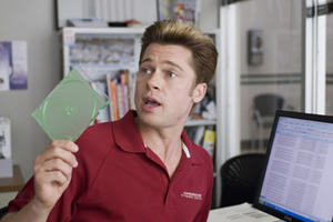 """Brad Pitt in """"Burn After Reading."""""""
