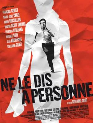 "Poster art for ""Tell No One."""