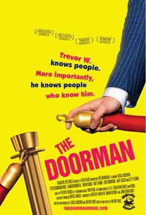 """Poster art for """"The Doorman."""""""