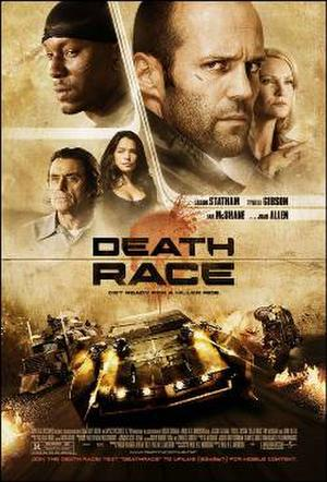 """Poster art for """"Death Race."""""""