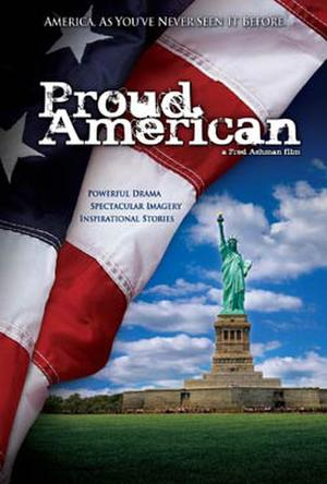 "Poster art for ""Proud American."""