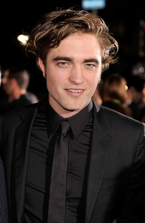 "Robert Pattinson at the L.A. premiere of ""Twilight."""