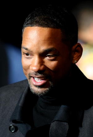 "Will Smith at the Missouri premiere of ""Seven Pounds."""