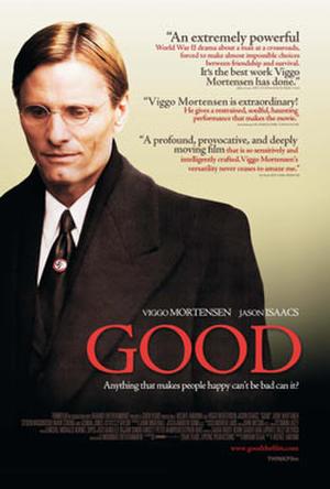 """Poster art for """"Good."""""""