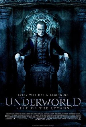 "Poster Art for ""Underworld: Rise of the Lycans."""