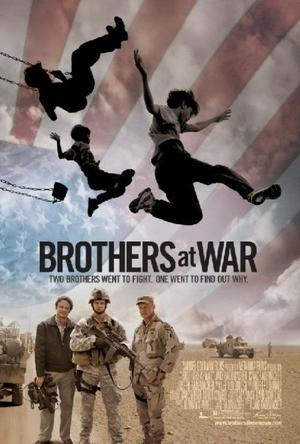 "Poster Art for ""Brothers at War."""